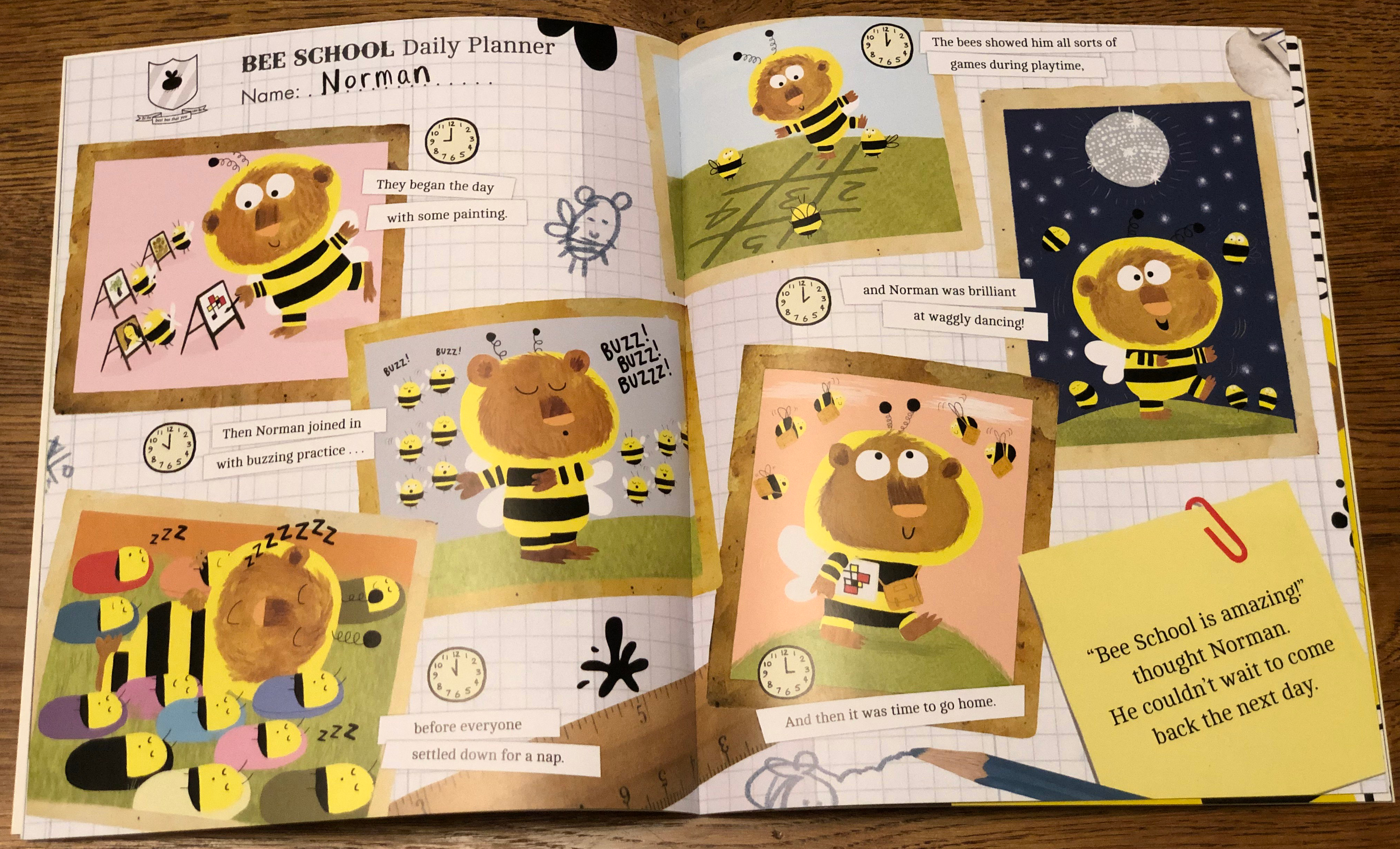 The Bumblebear - favourite spread