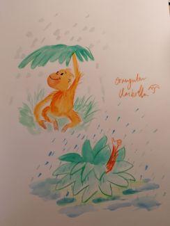 Orangutan Umbrella