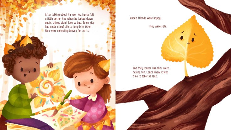 The Very Last Leaf by Stef Wade and Jennifer Davison