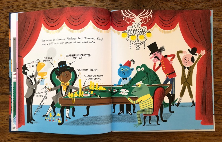 Albert Talbot Master of Disguise by Ben Manley and Aurelie Guillerey Two Hoots Macmillan 5