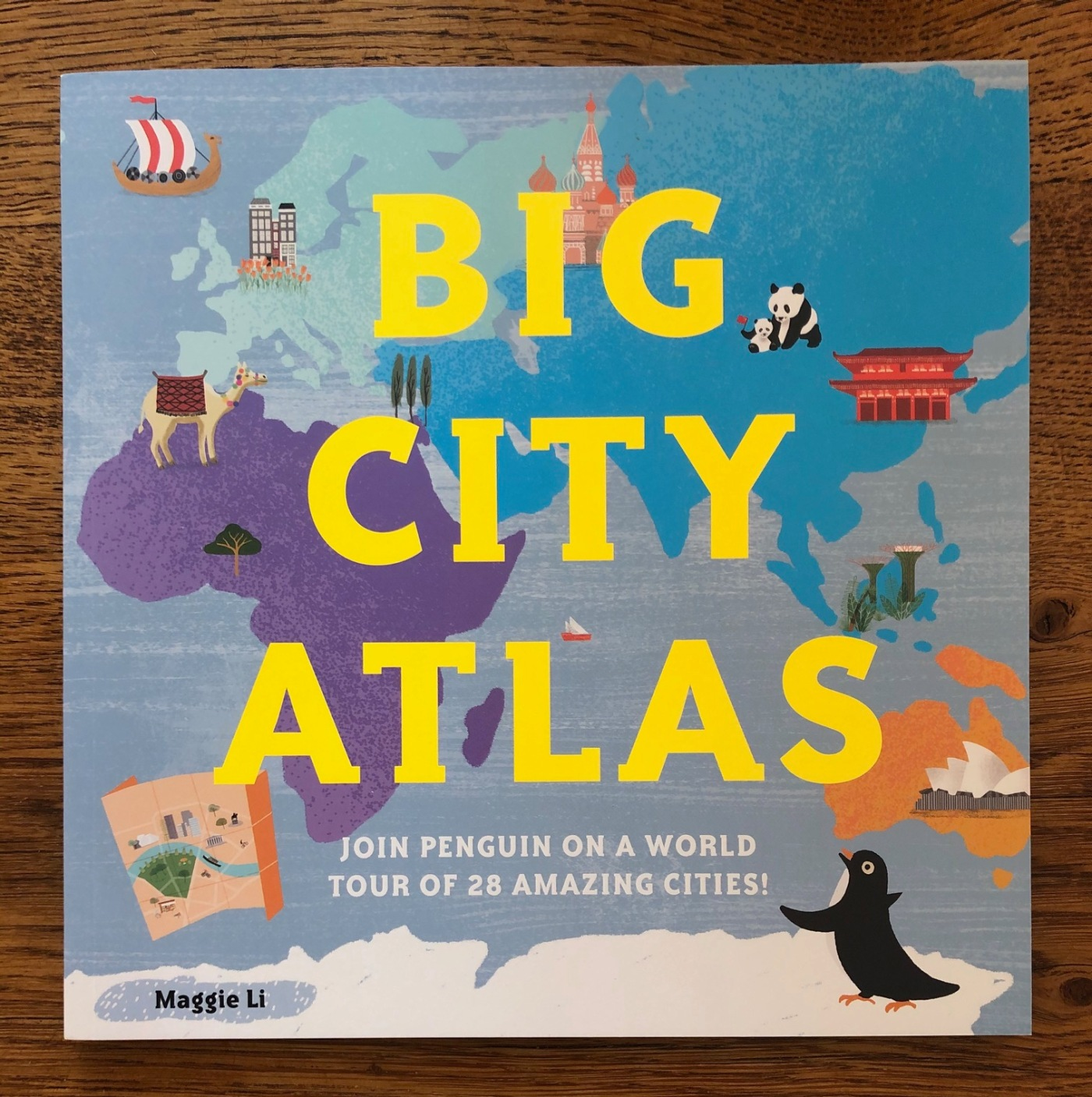 Big City Atlas by Maggie Li Pavilion Books