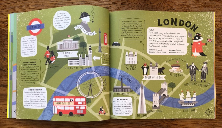 Big City Atlas by Maggie Li Pavilion Books - London