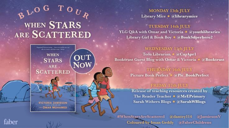 When Stars are Scattered - Blog Tour - Faber