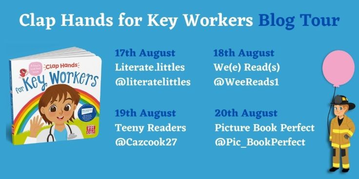 Clap Hands Key Workers Blog Tour Card