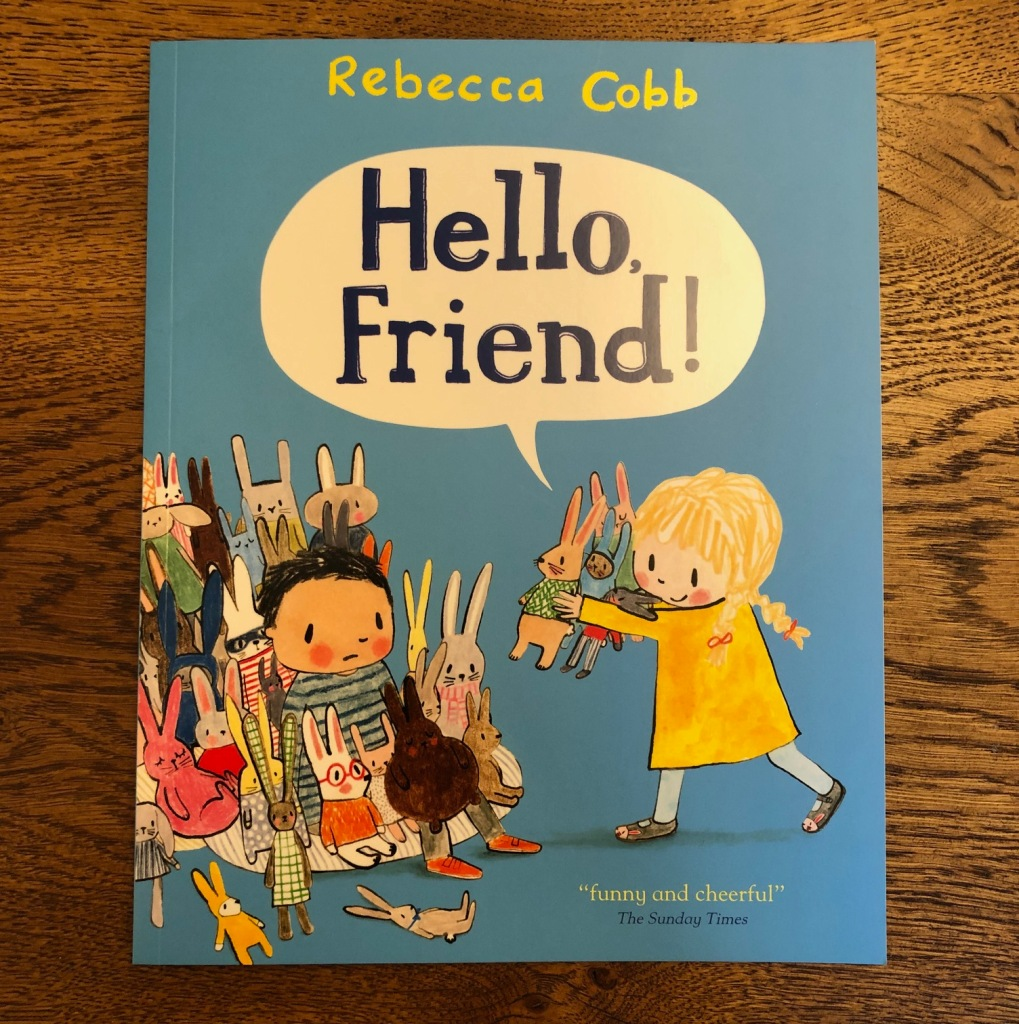Hello Friend by Rebecca Cobb Macmillan