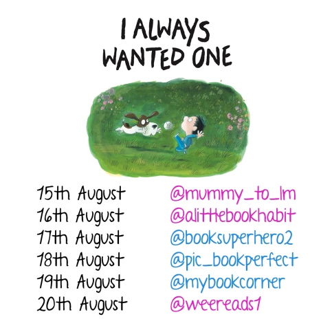 I Always Wanted One by Olivier Tallec Quarto Blog Tour Card