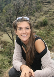 Children's TV wildlife presenter conservationist and trained vet Dr Jess French