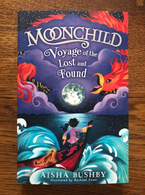 Moonchild Voyage of the Lost and Found by Aisha Bushby and Rachael Dean Egmont