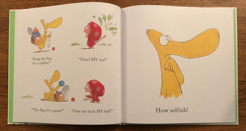 How Selfish! Dot and Duck By Clare Helen Welsh and Olivier Tallec Quarto