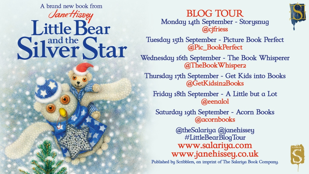 Little Bear and the Silver Star by Jane Hissey The Salariya