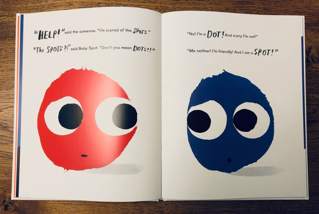 The Spots and the Dots by Helen Baugh and Marion Deuchars Andersen Press
