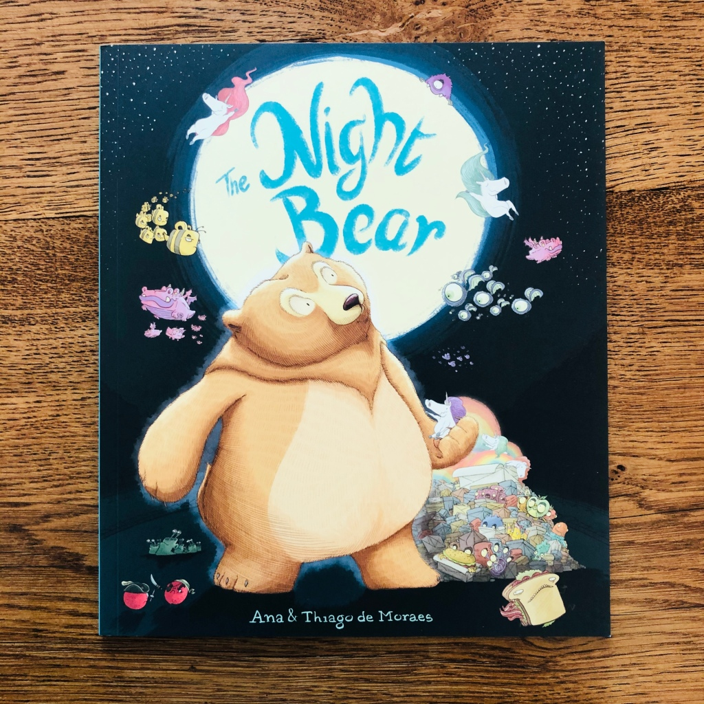 The Night Bear by Ana & Thiago de Moraes, published by Andersen Press