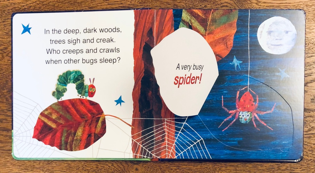 The Very Hungry Caterpillar's Creepy-Crawly Halloween by Eric Carle