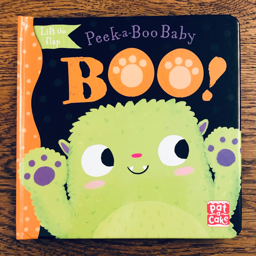 Boo by Pat-a-Cake & illustrated by Zoe Waring