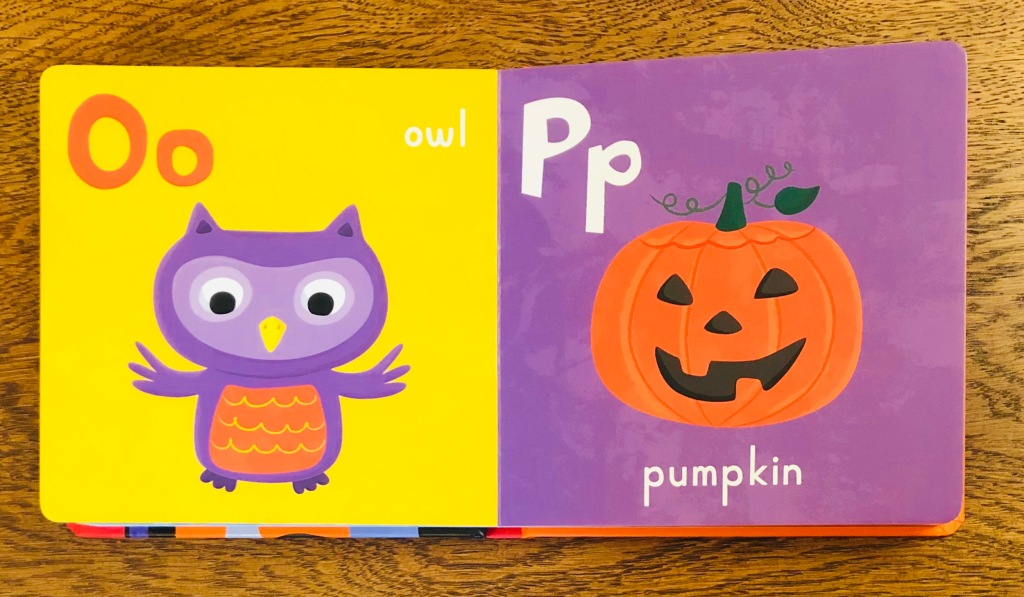 Halloween ABC illustrated by Jannie Ho Nosy Crow