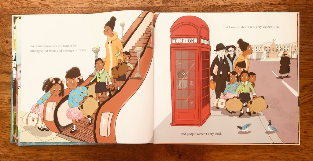 Coming to England by Floella Benjamin and Diane Ewen
