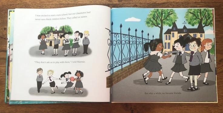 Coming to England by Floella Benjamin and Diane Ewen (Macmillan)