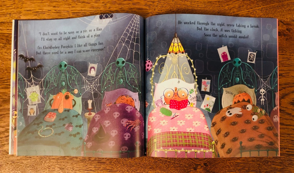 Christopher Pumpkin by Sue Hendra, Paul Linnet and Nick East Hachette Halloween Book
