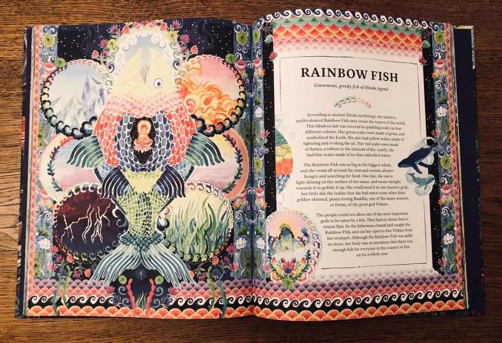 Hindu rainbow fish Mythopedia by Good Wives and Warriors