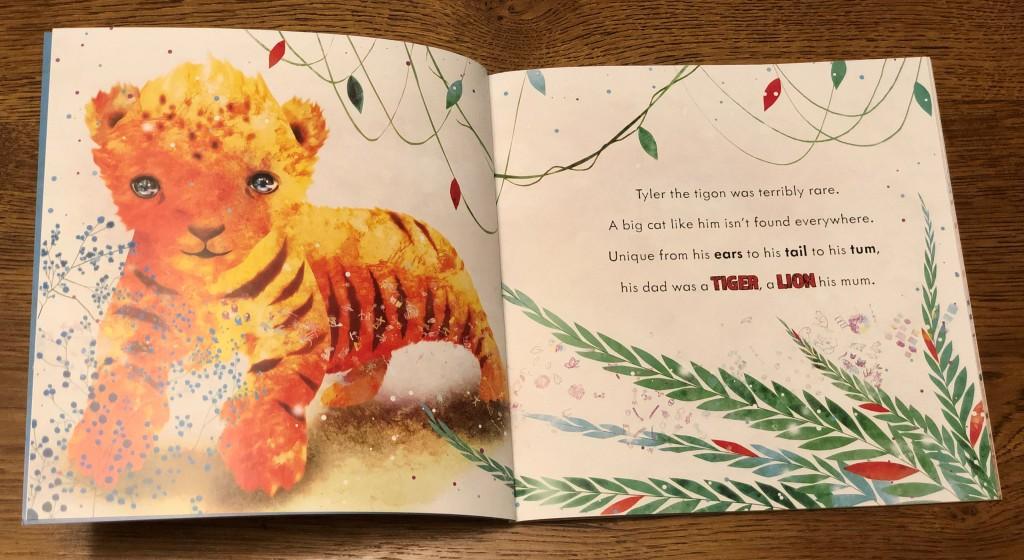 The Tigon and the Liger by Keilly Swift and Cosei Kawa (Lantana)