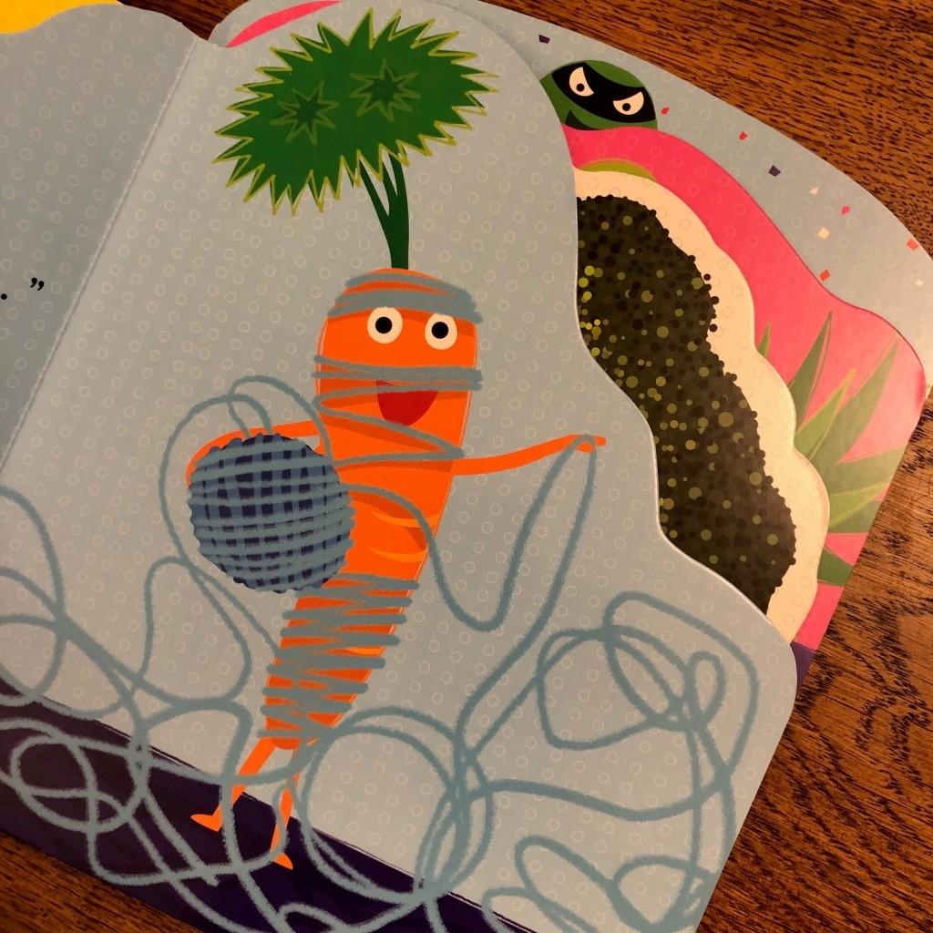 Supertato Super Squad by Sue Hendra & Paul Linnet board book carrot