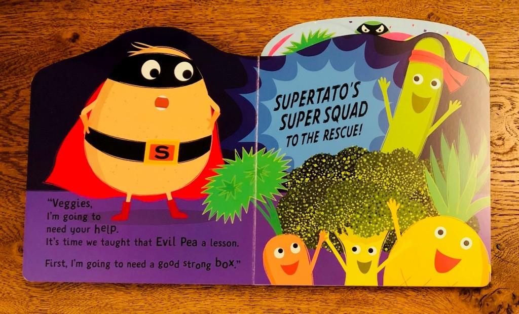 Supertato Super Squad by Sue Hendra & Paul Linnet board book