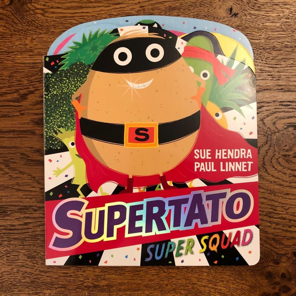 Supertato Super Squad by Sue Hendra & Paul Linnet board book cover