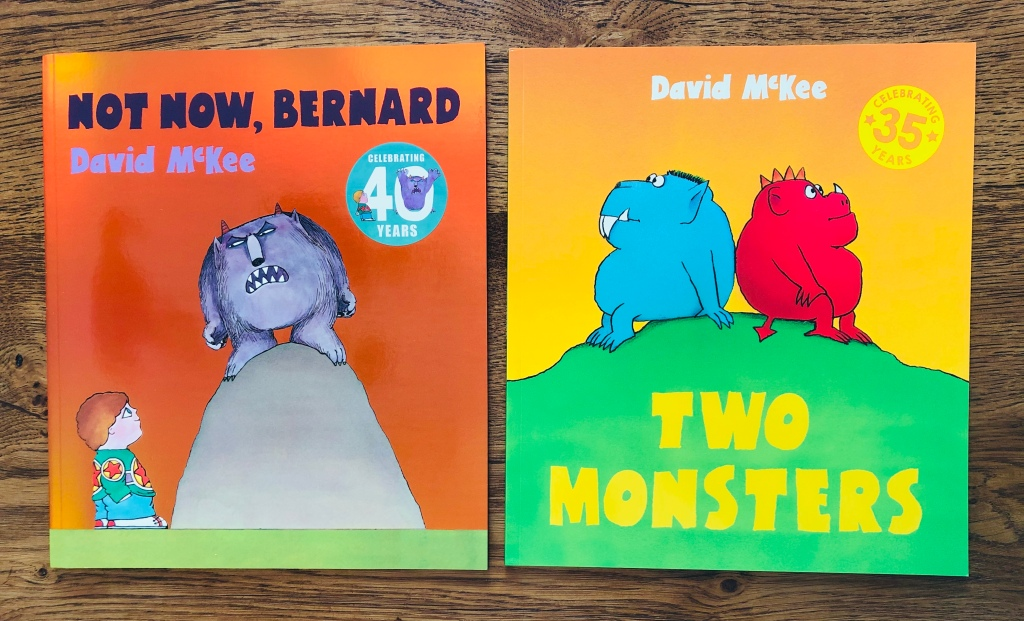 David McKee's Not Now, Bernard and Two Monsters