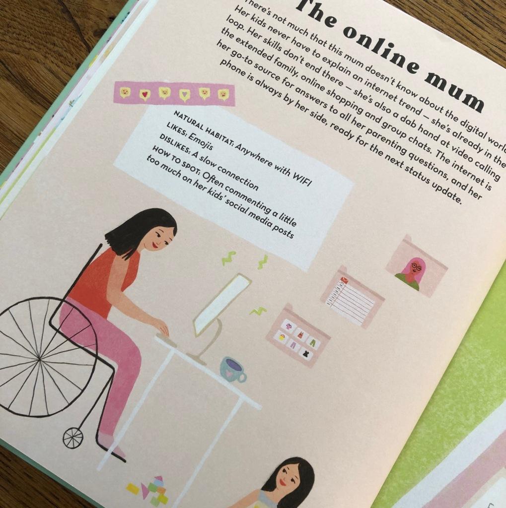 How to Spot a Mum by Donna Amey Bhatt and Aura Lewis online mum