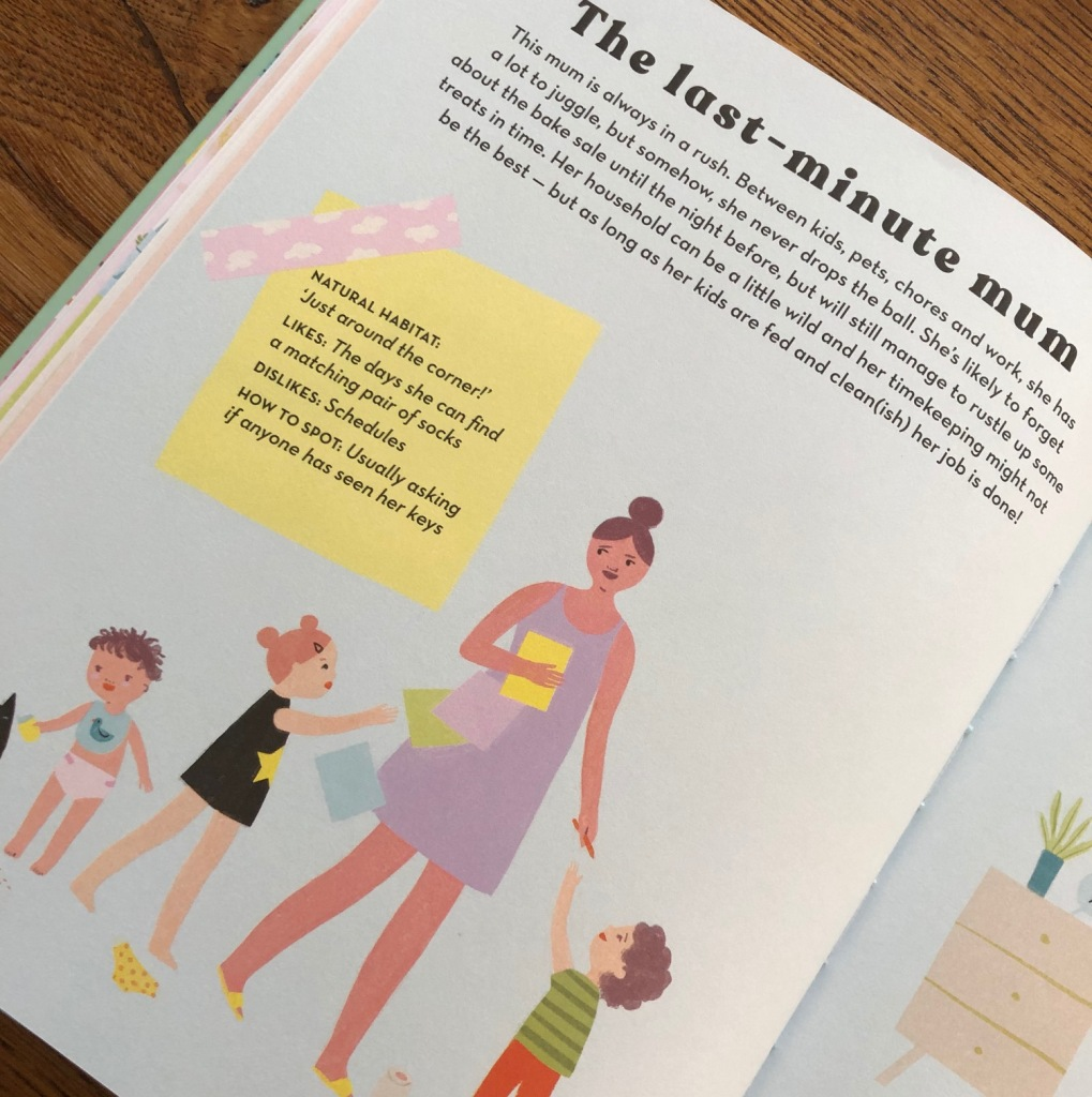 How to Spot a Mum by Donna Amey Bhatt and Aura Lewis The Last-Minute Mum