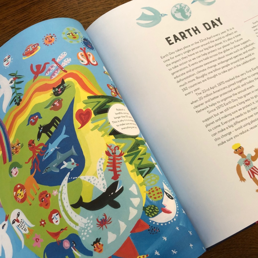 A Year Full of Celebrations and Festivals by Christopher Corr & Claire Grace Quarto Books Earth Day
