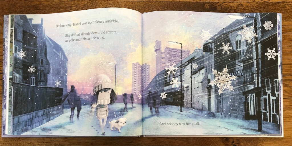The Invisible by Tom Percival invisible girl walking down the street