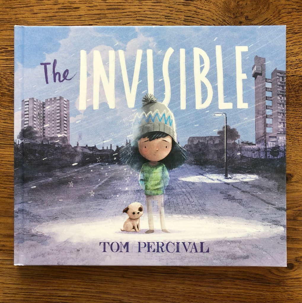The Invisible by Tom Percival cover