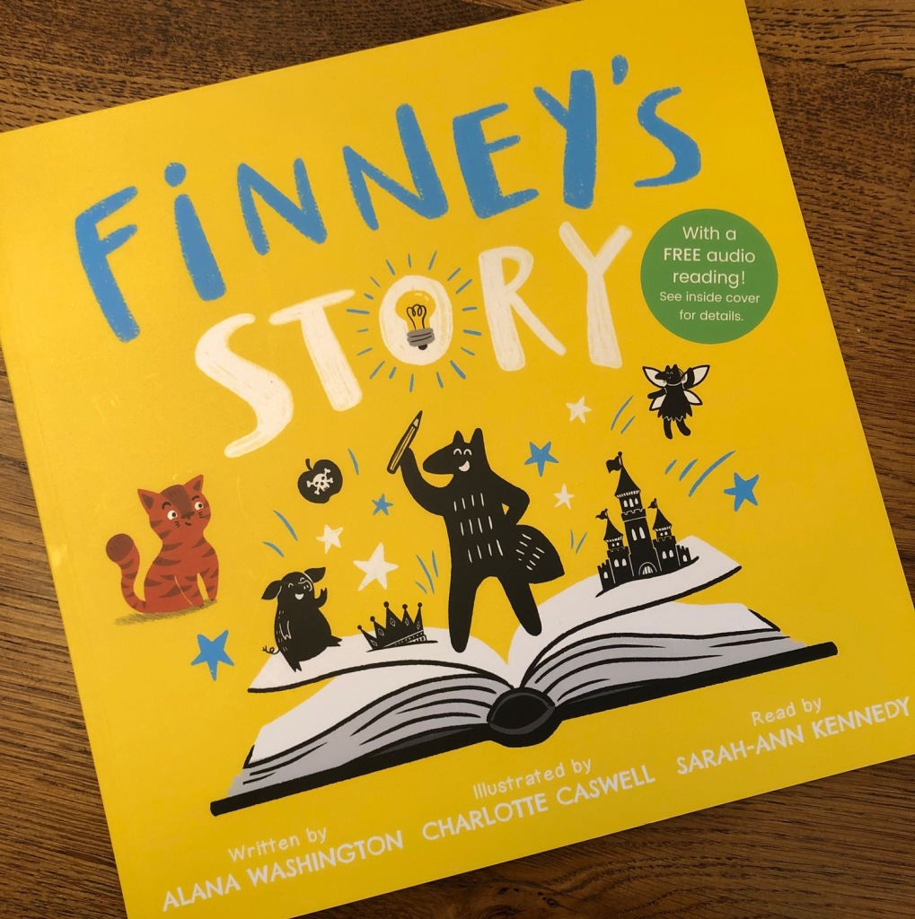 Finney's Story by Alana Washington and Charlotte Caswell UClan Publishing