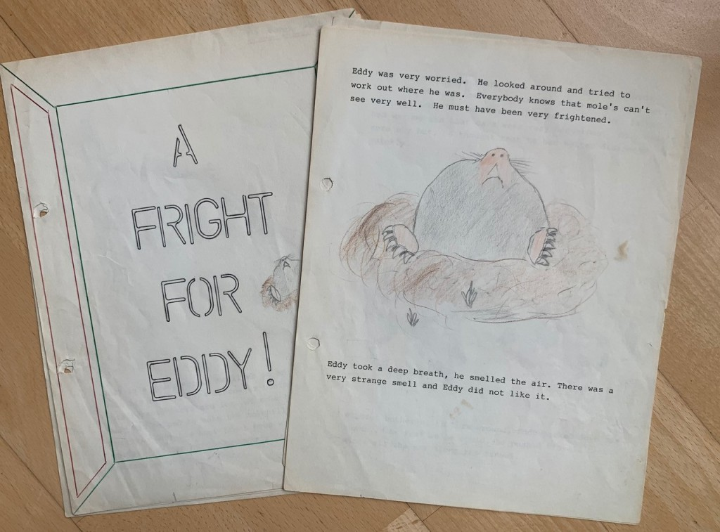 Rachel Ip's childhood story, A Fright for Eddy!