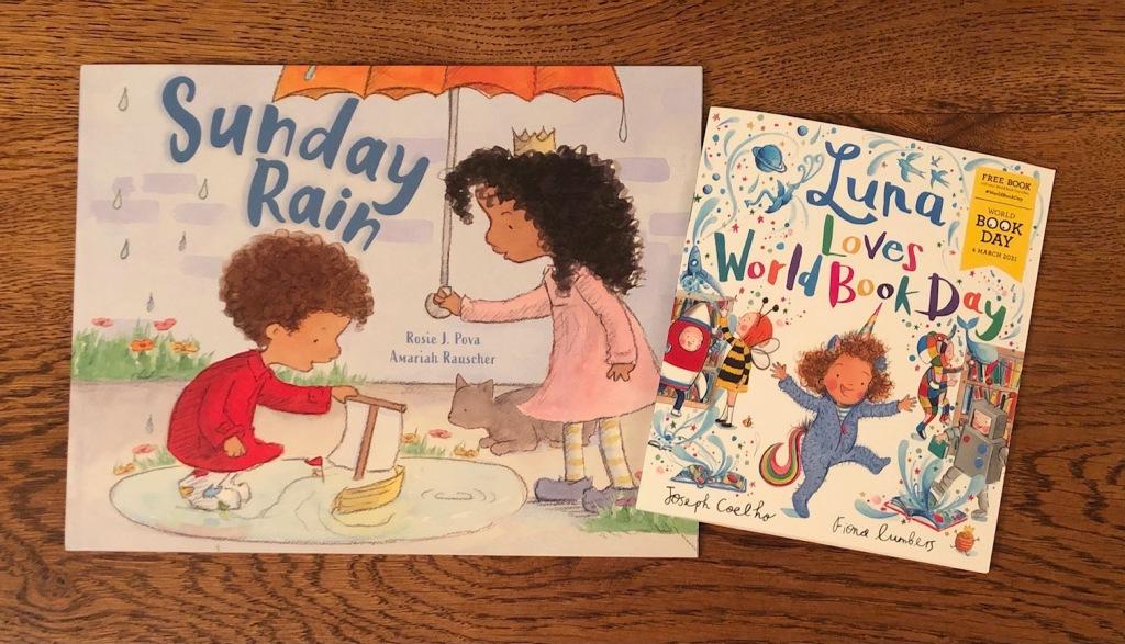 Luna Loves World Book Day and Sunday Rain