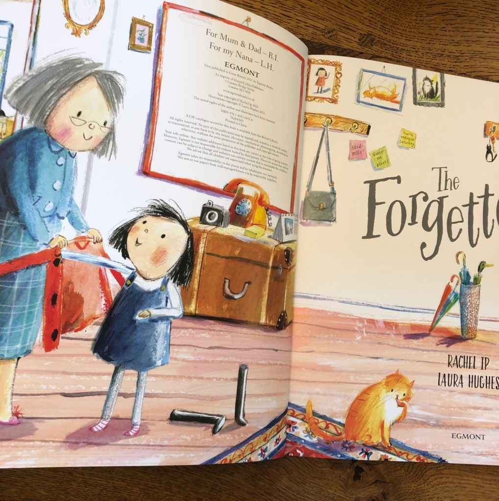 The Forgettery by Rachel Ip and Laura Hughes Farshore Books