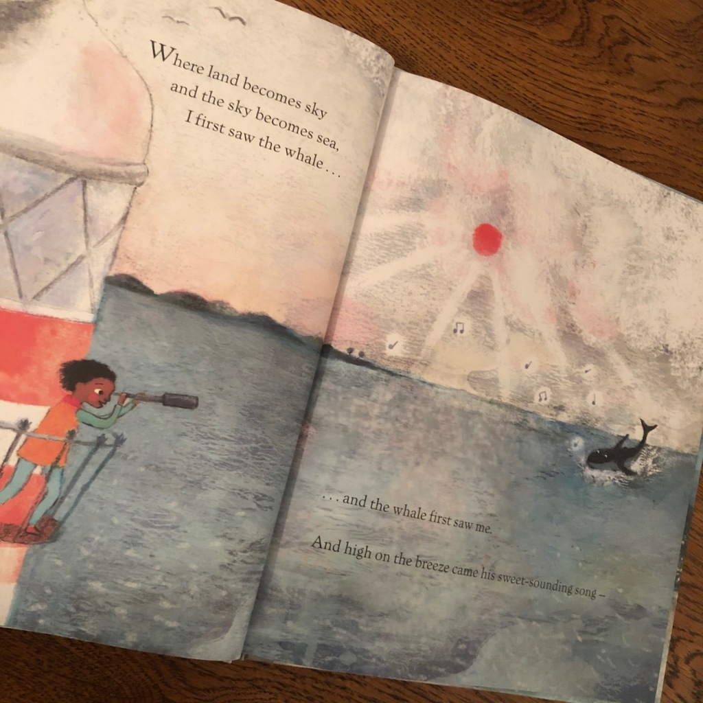 The Tale of the Whale by Karen Swann and Padmacandra Scallywag  lighthouse