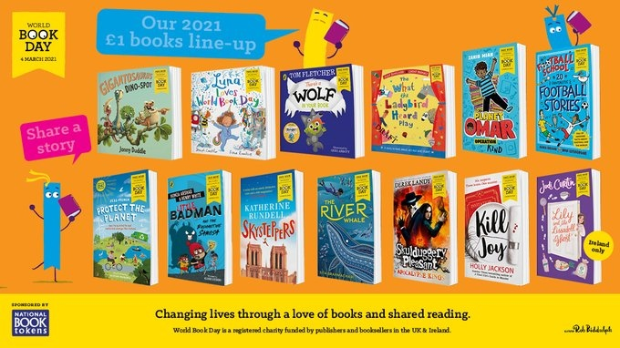 Official 2021 World Book Day Books