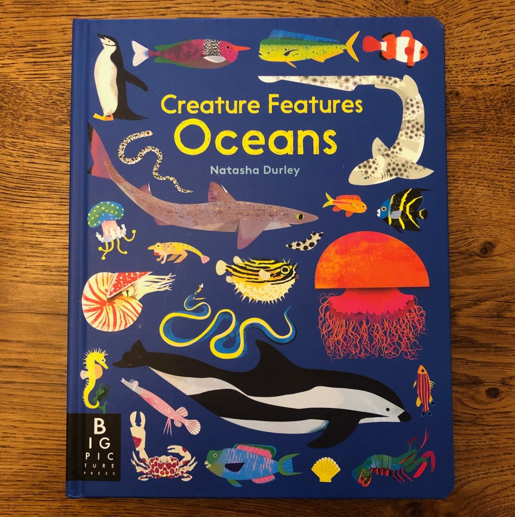 Creature Features: Ocean by Big Picture Press, illustrated by Natasha Durley