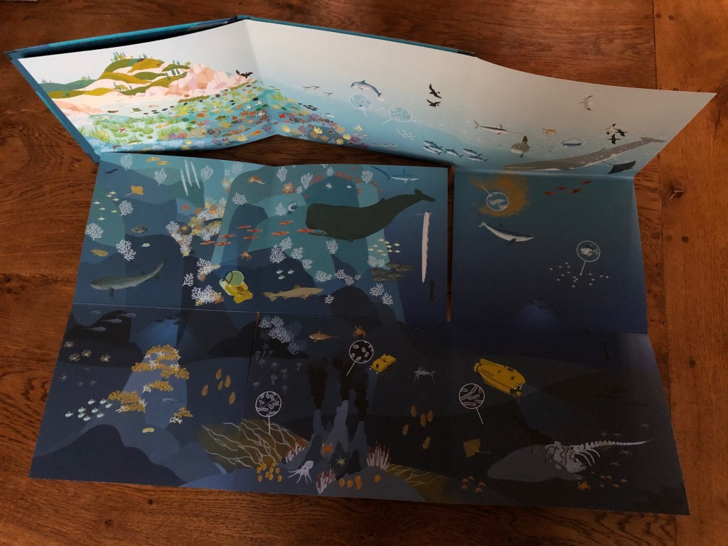 The Sea: Panoramic Giant: The Sea by Veronique Sarano, Anine Bosenberg and Loris F. Alessandria