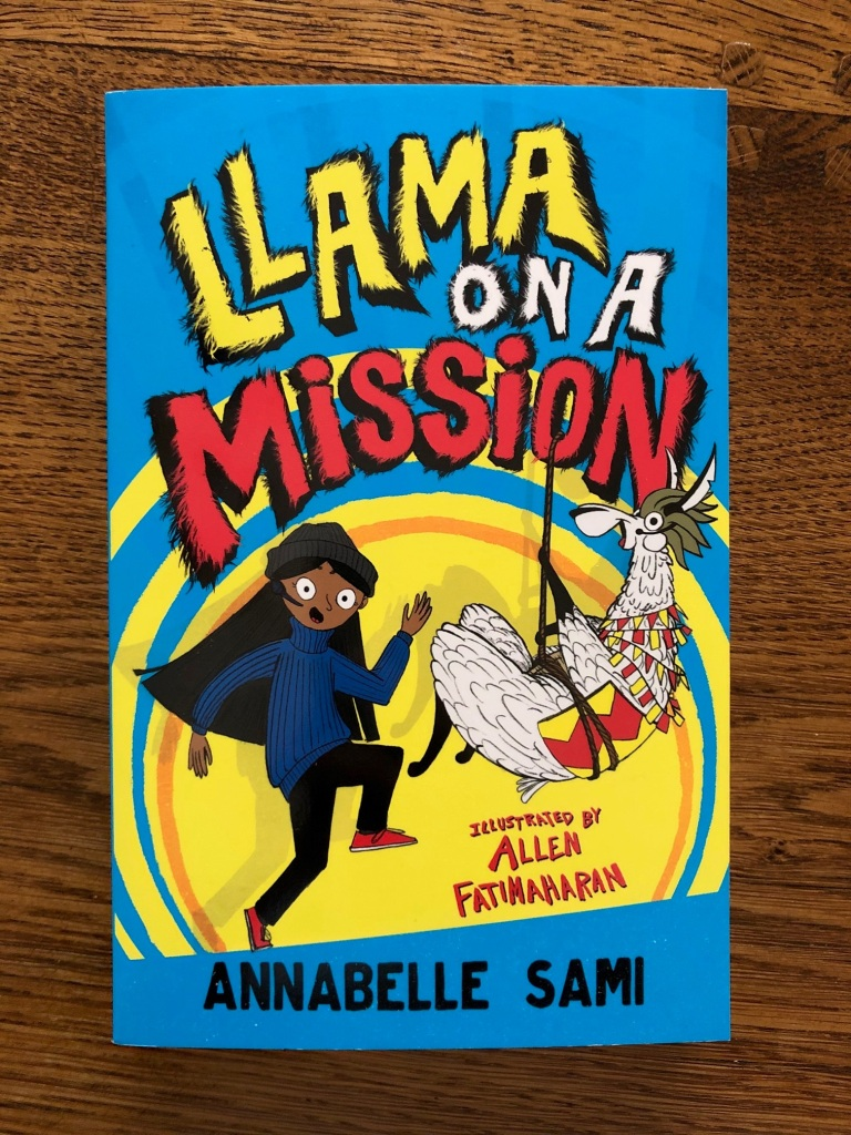 Llama on a Mission by Annabelle Sami with illustrations by Allen Fatimaharan Farshore Books