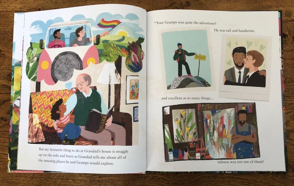 Grandad's Camper by Harry Woodgate Andersen Press