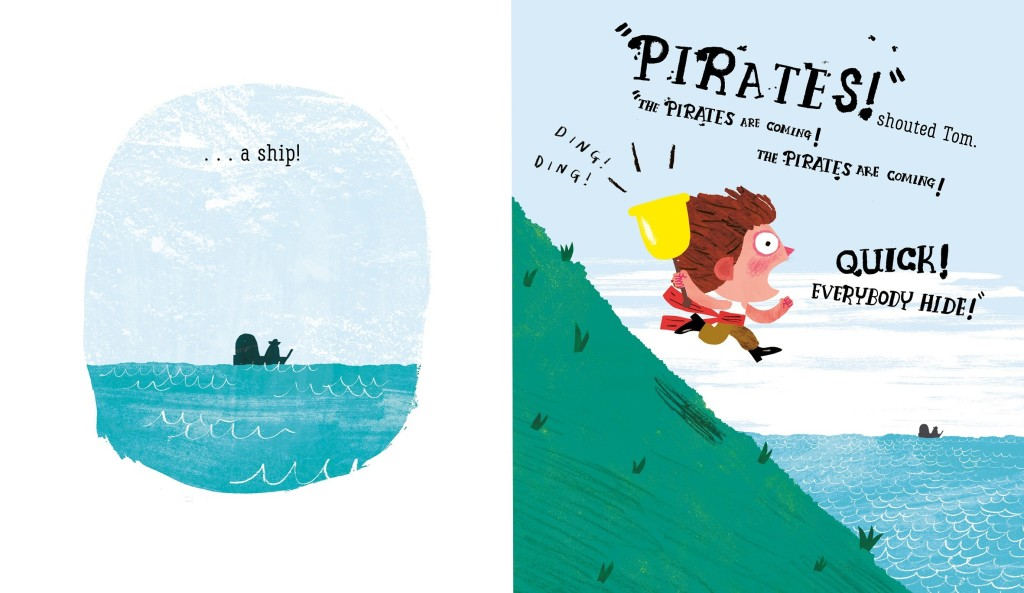 Illustration from The Pirates are Coming, Nosy Crow