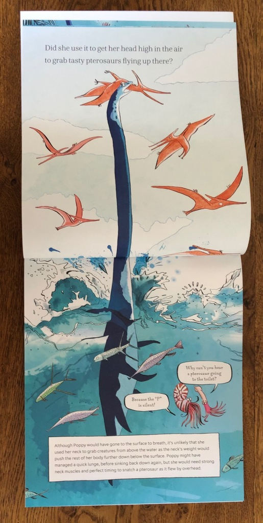The Plesiosaur's Neck written by Dr Adam S. Smith and Jonathan Emmett and illustrated by Adam Larkum