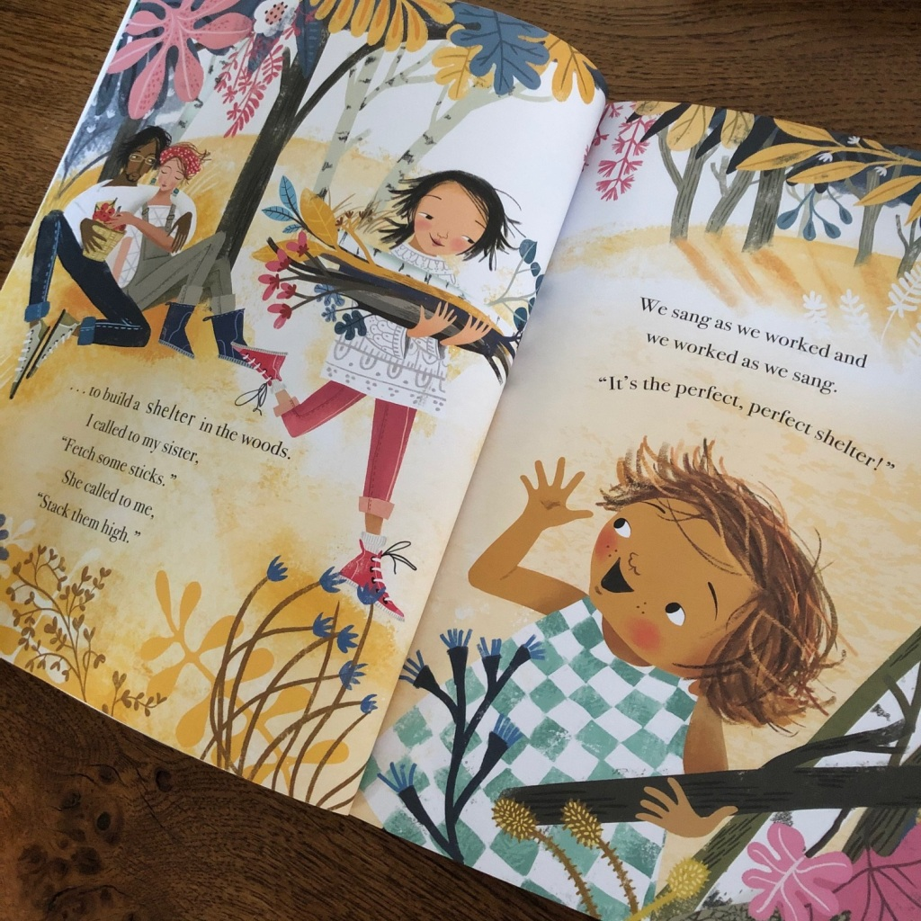 The Perfect Shelter by Clare Helen Welsh and Åsa Gilland Little Tiger