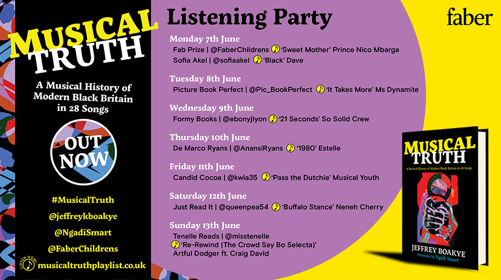 Musical Truth by Jeffrey Boakye and Ngadi Smart Listening Party