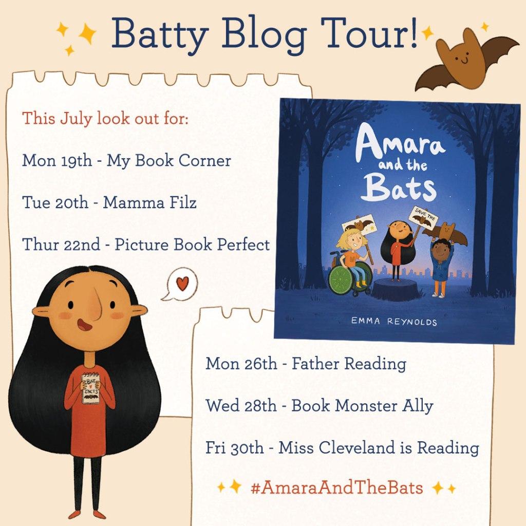 Amara and the Bats by Emma Reynolds blog tour
