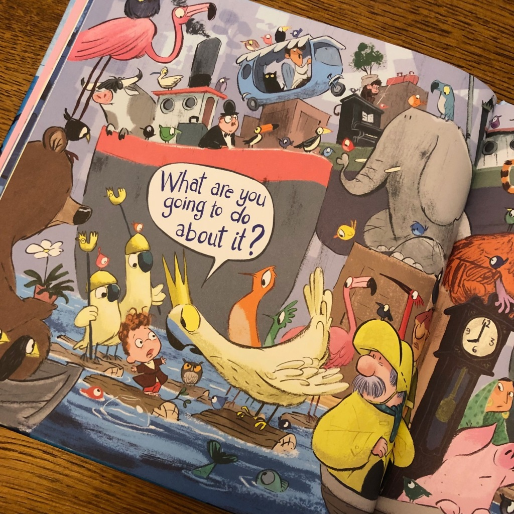 The Day Fin Flooded the World by Adam Stower Andersen Press picture book