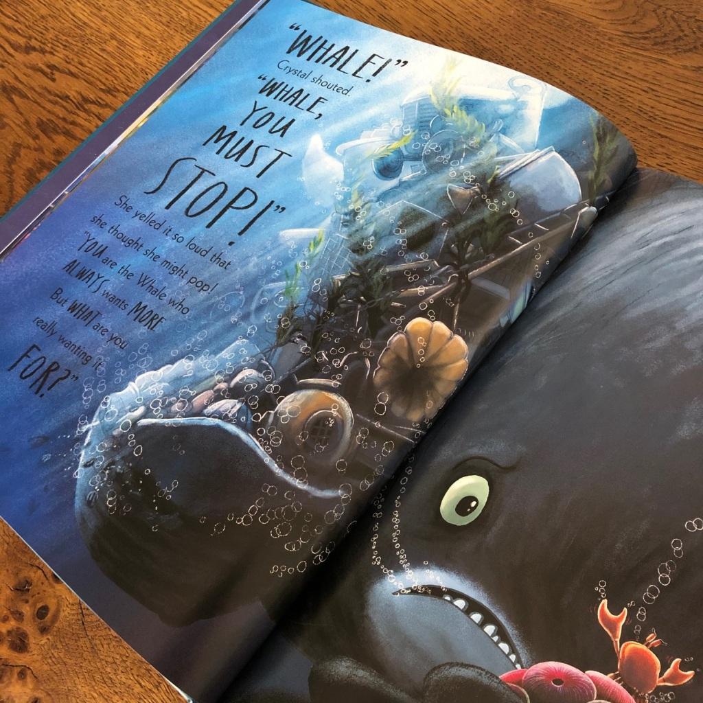 The Whale Who Wanted More by Rachel Bright and Jim Field